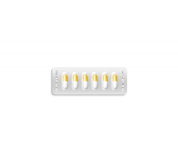 Blister avec des pilules