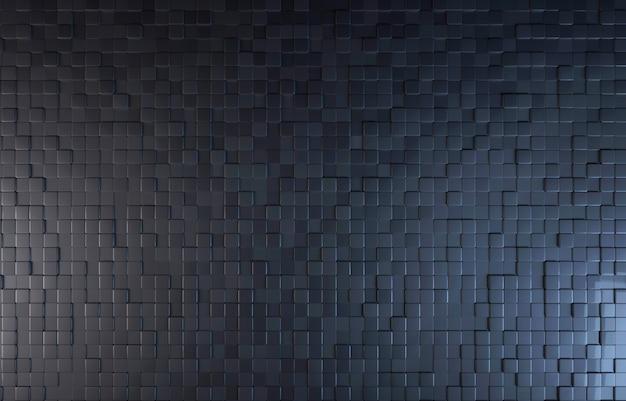 Bloc de couleur noire fond vue de dessus