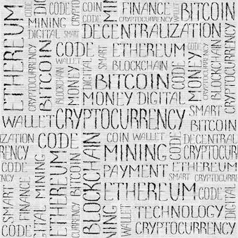 Blockchain Finance Web Argent Transfert D'entreprise Technologie Texture Photo Premium