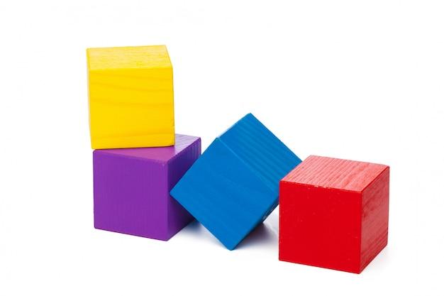 Blocs de construction en bois