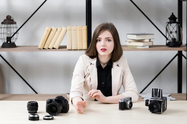 Blogger raisonnement sur l'équipement photo