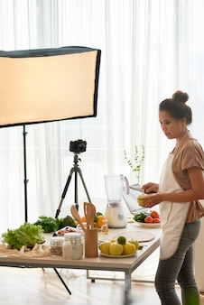 Blogueur de cuisine
