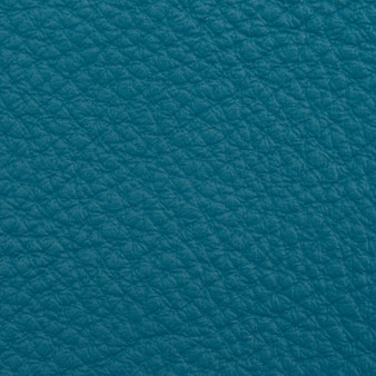 Blue shot en cuir bleu