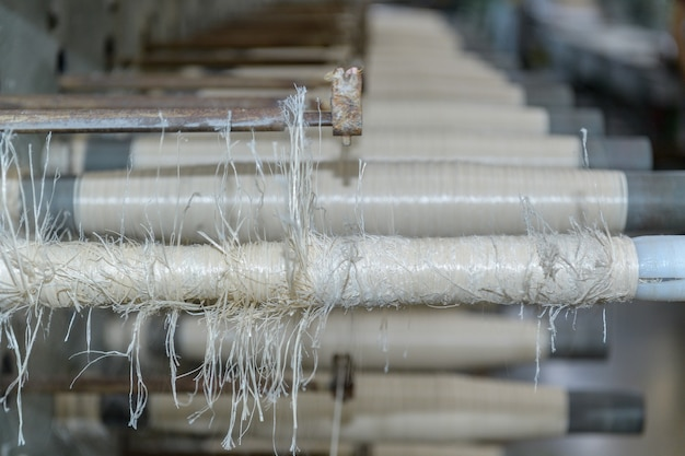 Bobines et cordes textiles, machine textile, machine de fabrication de cordes en nylon de haute qualité en usine