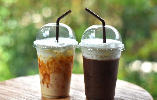 Boire du café frais