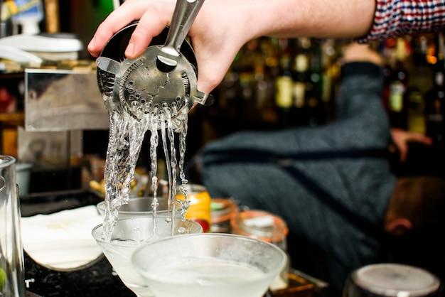 Boire verrerie cocktail nappe gourmet