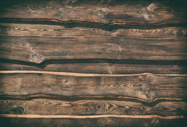 Bois brun vide de planches parallèles