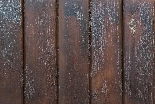 Bois brut brun foncé. vieux fond de planches en bois.
