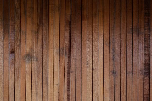 Bois brut, clôture à lattes en bois ou mur à lattes