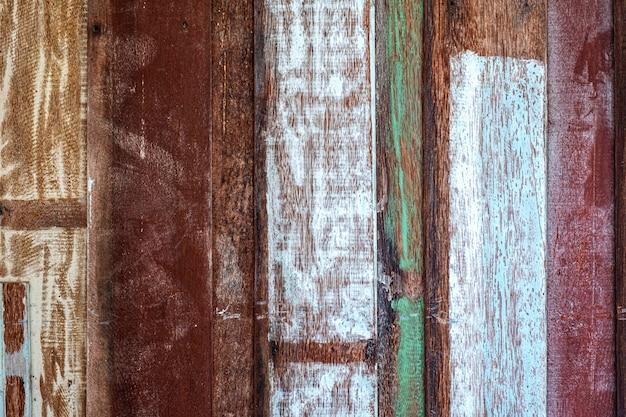 Bois pastel en bois avec fond de mur de texture de planche