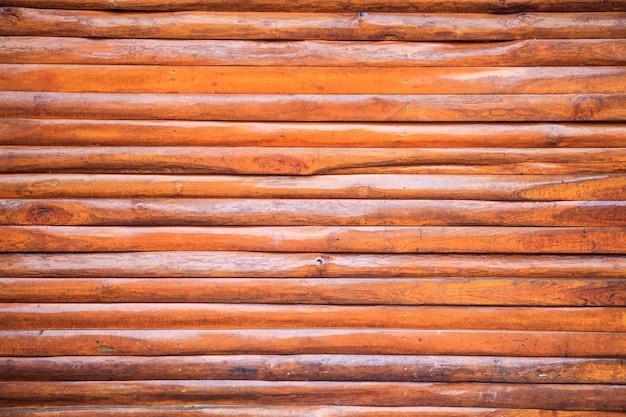 Bois texturé brun brut vieilli pour clôture en bois naturel