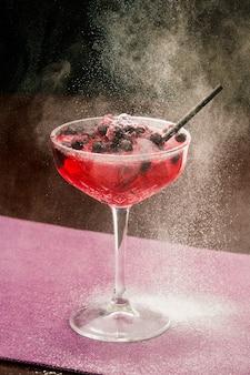 Boisson alcoolisée au bar