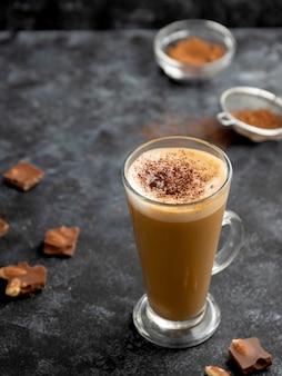 Boisson au chocolat chaud