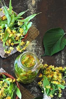 Boisson détox estivale à la lime. thé froid à la lime régime céto. keto boissons.