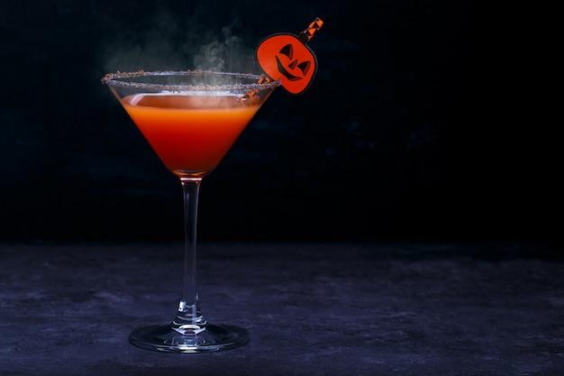 Boisson d'halloween pour la fête, mise au point sélective