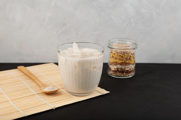 Boisson misutgaru ou misugaru latte