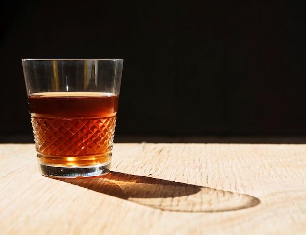 Boisson rafraîchissante dans un verre