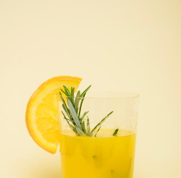 Boisson rafraîchissante à l'orange