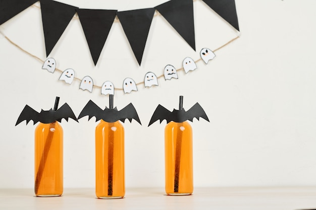 Boissons à la fête d'halloween