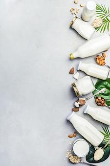 Boissons et ingrédients de succédané de lait sans produits laitiers