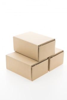 Boîte brune maquette