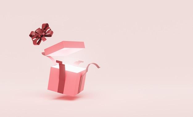 Boîte cadeau ouverte