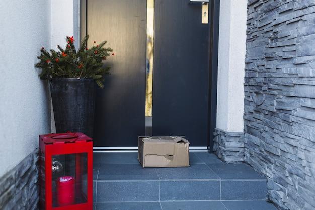 Boîte cassée livrée au client