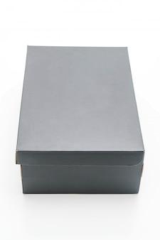 Boîte à chaussures noire