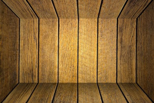 Boîte à l'intérieur de planches