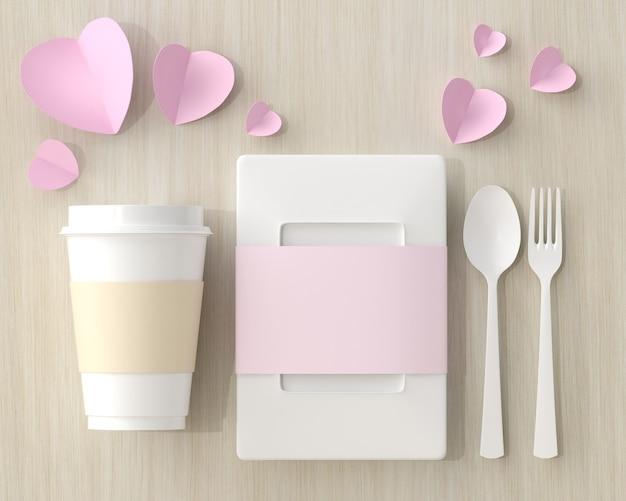 Boîte à lunch coeur