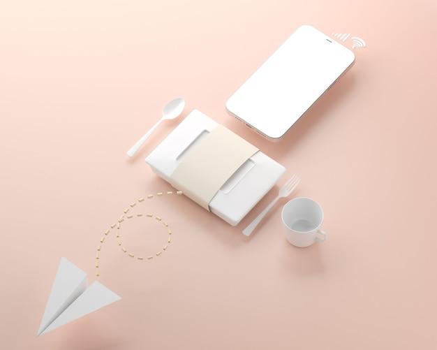 Boîte à lunch smartphone