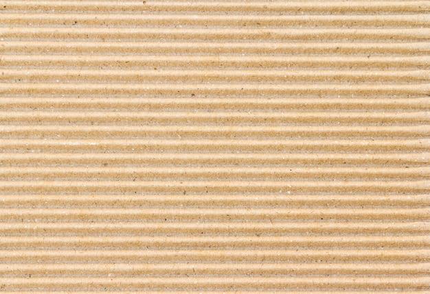 Boîte en papier brun ou texture de feuille de carton ondulé