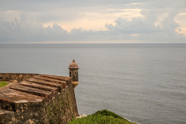Boîte de sentinelle de fort san cristobal