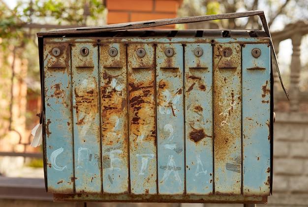 Boîtes aux lettres anciennes en europe de l'est