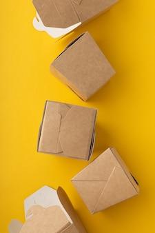 Boîtes non plastiques pour la livraison de nouilles chinoises