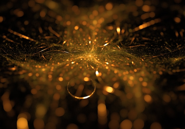 Bokeh abstract glitter background