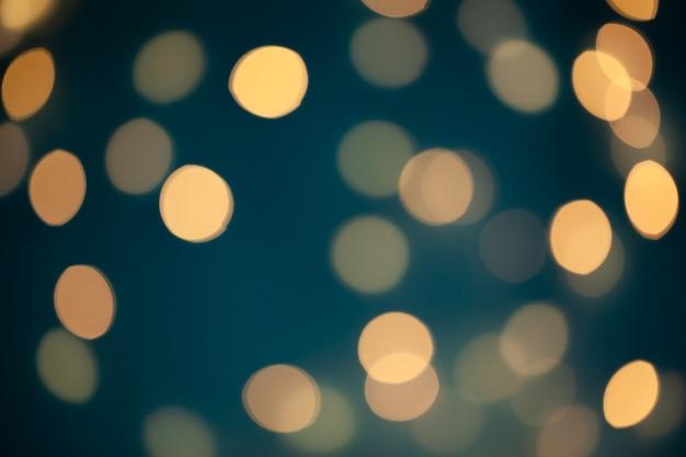 Bokeh abstrait de lumières de noël