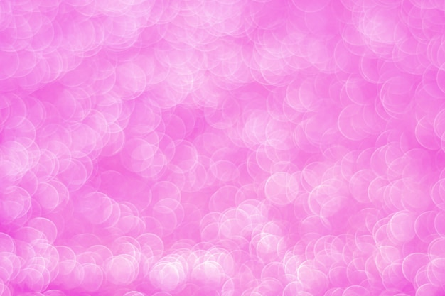 Bokeh abstrait rose clair scintillant
