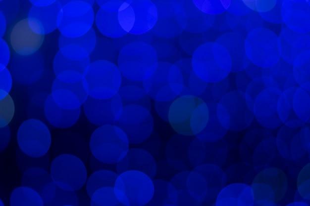 Bokeh bleu foncé