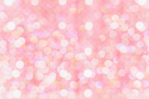 Bokeh brouillé belles lumières brillantes