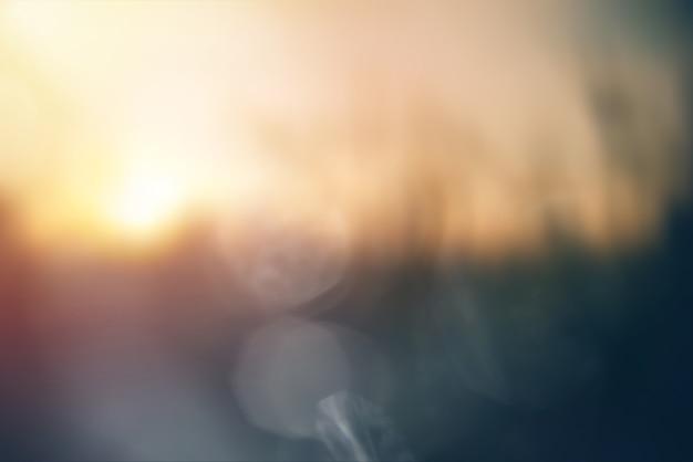 Bokeh floue abstrait milieux de nature pastel doux
