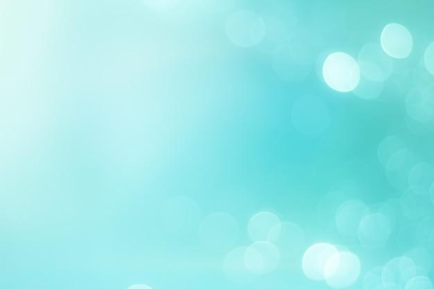 Bokeh sur fond bleu
