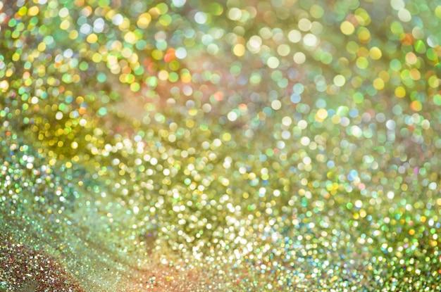 Bokeh glitter colorfull floue abstrait pour anniversaire