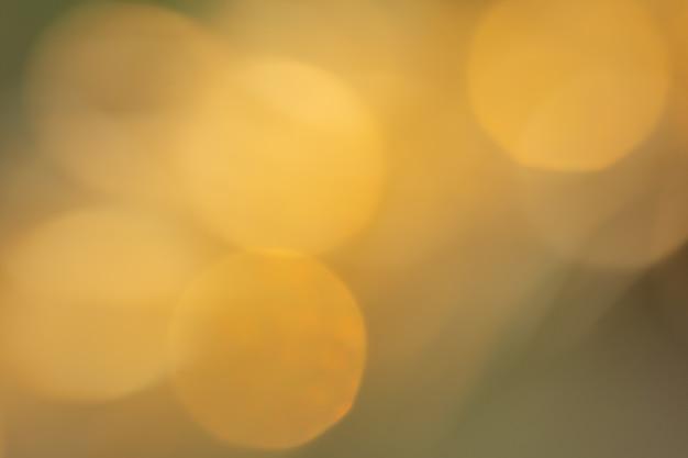 Bokeh de lumière naturelle
