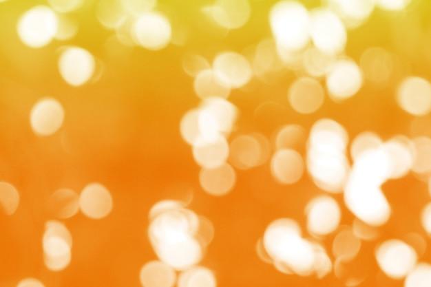 Bokeh or abstrait, thème de noël et du nouvel an