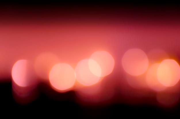 Bokeh photo de lumière led. défocalisé de fond clair de lumière led
