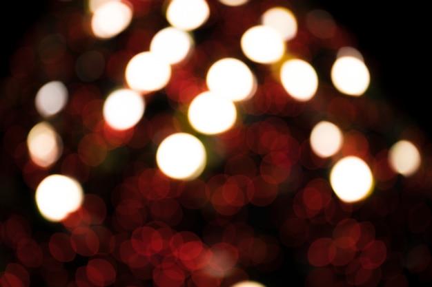 Bokeh avec plusieurs couleurs, fond de bokeh lumières festive