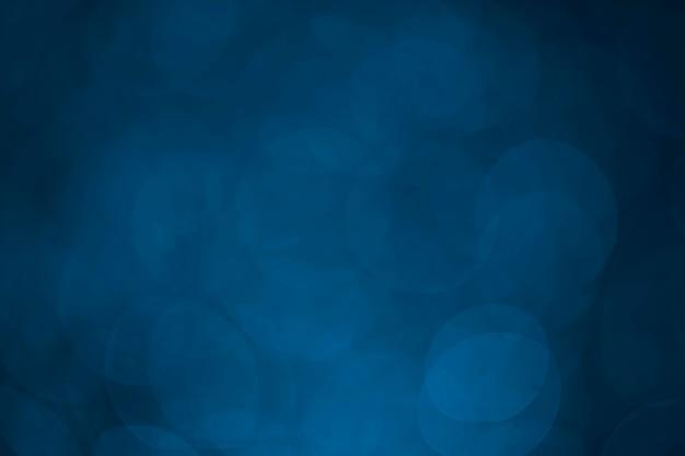 Bokeh à pois bleu pour le fond