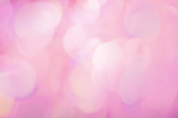 Bokeh rose abstrait