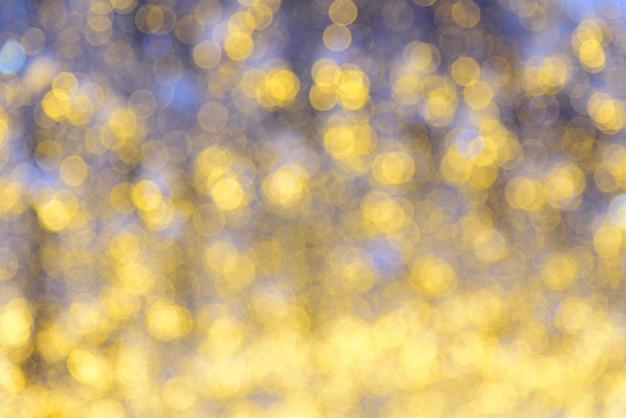 Bokeh vif dans le style de couleur douce pour le fond de la lumière de noël